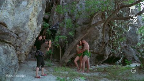 Momente neobișnuite pe insulă. Aurel a făcut atac de panică atunci când vede un șarpe!