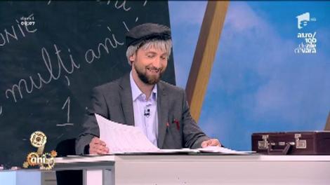 """Uite de-asta îi iubim! De 1 iunie, tovarășu' prof Dani își prezintă elevii: """"-Simion!"""" """"- Da, eu sunt, dumneata ești hodorogu'?"""""""