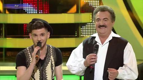 Asta da provocare. Cuza, regele YouTube-ului, într-un duet tradițonal cu Petrică Mâțu Stoian
