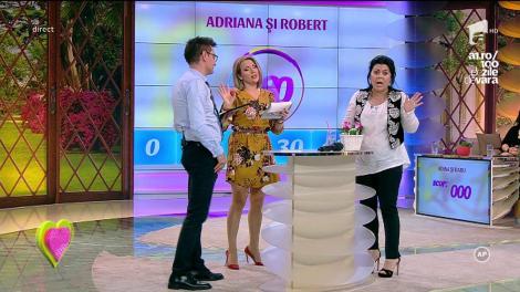 Adriana şi Robert, câștigătorii celei de-a 79-a ediții 2k1! Mirela Vaida i-a felicitat din toată inima!