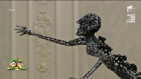 Daniel Rădulescu, un Constantin Brâncuşi al artei moderne! A creat adevărate sculpturi din metale!