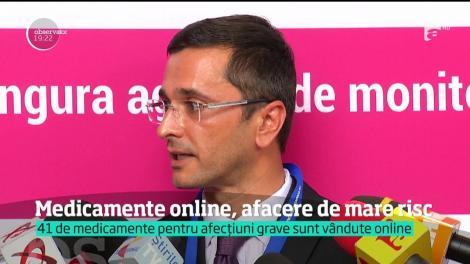 Comerțul ilegal de medicamente pe internet dezvoltă afaceri de milioane de euro