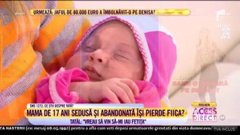 """Marian, tatăl copilei de trei săptămâni, își vede bebelușul pentru prima dată: """"Vreau să vin să-mi iau fetiței"""""""
