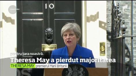 Victorie amară pentru Theresa May şi conservatorii britanici. Partidul premierului a pierdut majoritatea din Parlament
