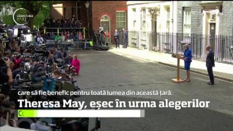 Principalii consilieri ai premierului Theresa May şi-au depus demisiile dupa aflarea rezultatelor scrutinului