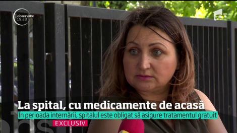 În spitalele din România, pacienţii vin cu medicamentele de acasă