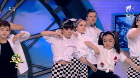 Trupa de copii, Teo Dance, spectacol pe scena de la Neatza