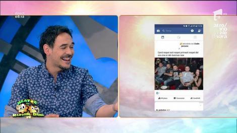 """Rubrica """"Decât un prieten în plus pe Facebook, mai bine un prieten în minus"""". Mesajul zilei: """"Eu recunosc când greșesc, cu toate că nu greșesc niciodată"""""""