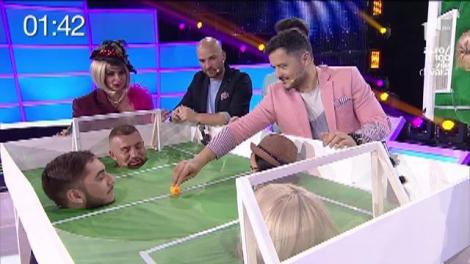 "Mini-fotbal, în platoul ""FANtastic Show"": Margherita de la Clejani, mai tare ca fotbalistul Cristiano Ronaldo"