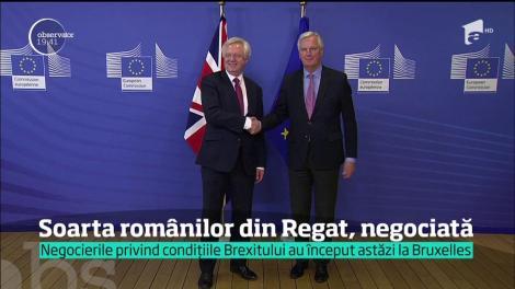Marea Britanie a început negocierile de divorţ cu Uniunea Europeană
