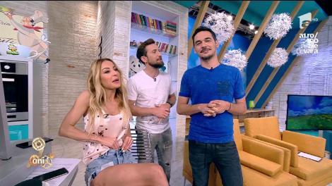 """Matinalii de la Neatza se pregătesc de VARĂ!!! Discutând despre costume de baie, Flavia are o revelaţie: """"Dani,  nu ţi-am văzut buricul niciodată..."""". Răspunsul e genial: """"O să ţi-l arăt mai târziu pe Instagram"""""""