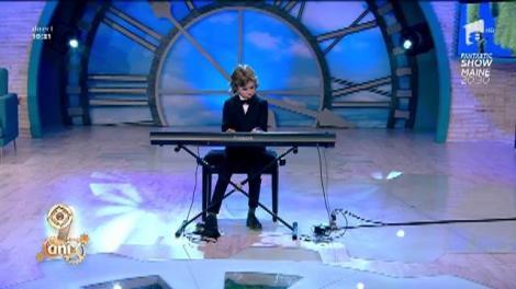Micul pianist. Luca Moacă-Marinescu - Ballade pour Adeline