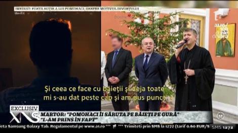 """Un martor face acuzaţii grave la adresa preotului Cristian Pomohaci: """"L-am prins în fapt! Îi săruta pe băieţi pe gură!"""""""
