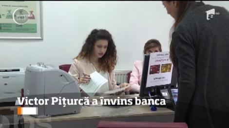 Victor Piţurcă a câştigat un proces cu o bancă şi va primi 200.000 de mii de euro înapoi