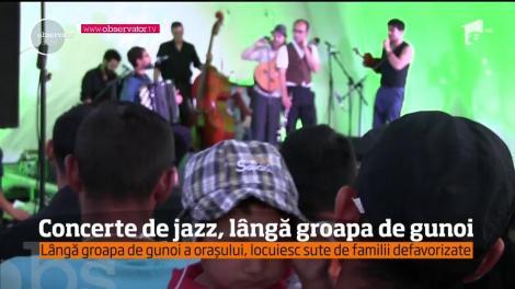 Lângă cel mai izolat şi totodată dezolant loc din Cluj-Napoca a răsunat muzică de jazz!