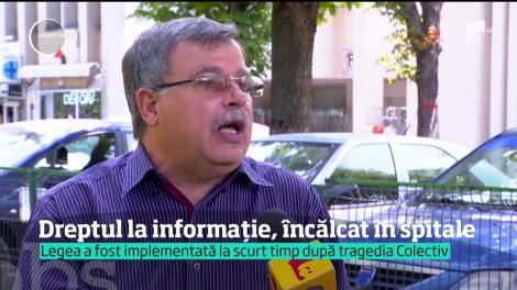 Dreptul la informaţie, încălcat în spitalele din România