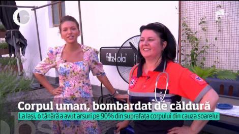 România trăieşte în cuptor! O tânără este în stare gravă la spital, cu arsuri pe 90 la sută din corp după ce a stat prea mult la plajă