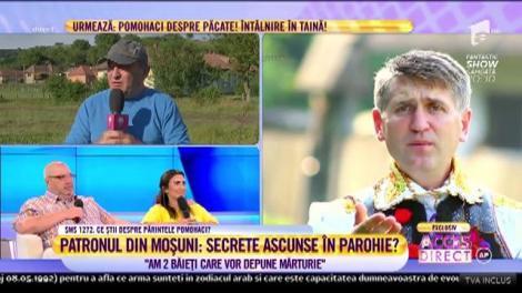 """Sătean: """"Sunt doi băieți care vor să depună mărturie împotriva preotului Pomohaci"""""""