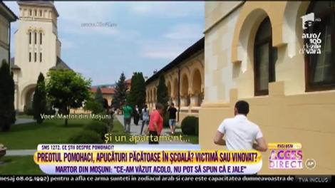 """Părintele Cristian Pomohaci, apucături păcătoase în școală?! Martor: """"Ce-am văzut acolo, nu pot să spun că e jale!"""""""