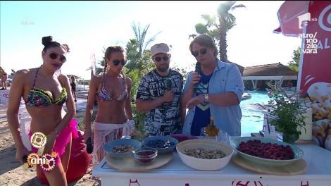 """Desertul """"Summer Happiness"""" e un adevărat răsfăț culinar pentru weekend! Se face imediat, cu doar câteva ingrediente!"""