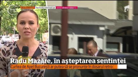 Radu Mazăre îşi aşteaptă sentinţa în dosarul retrocedărilor ilegale