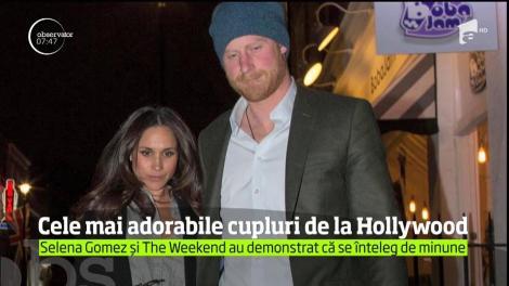 Cele mai adorabile cupluri de la Hollywood