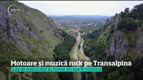 Motoare și muzică rock pe Transalpina