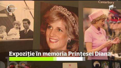Expoziție în memoria Prinţesei Diana