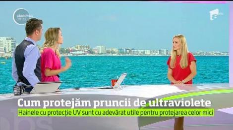 Cum să protejăm copii de ultraviolete. Care sunt recomandările medicilor specialiști
