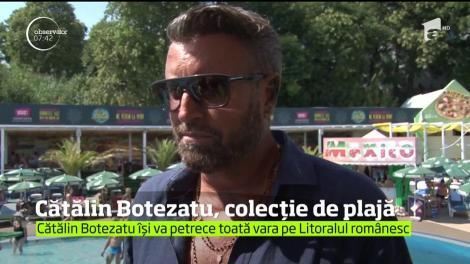 Cătălin Botezatu şi-a lansat ultima colecţie de costume de baie