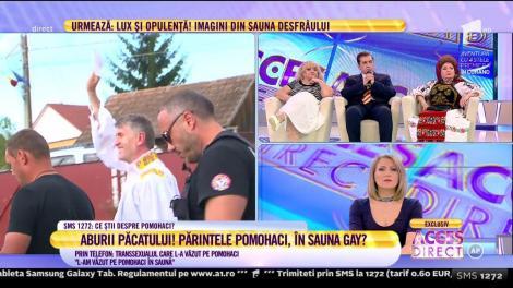 """Părintele Pomohaci, în sauna gay? Martorul transsexual: """"Plătea mai bine decât cei din Viena"""""""