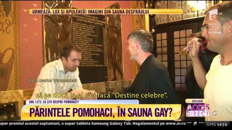 """Dezvăluiri șocante făcute de un presupus martor: """"L-am văzut pe Pomohaci în sauna pentru gay!"""""""