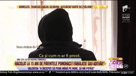 """Atingeri interzise între părintele Pomohaci și un adolescent de 15 ani: """"A început să pună mâna pe mine, să mă pipăie"""""""