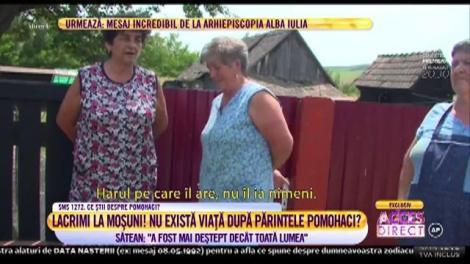 Lacrimi la Moșuni! Localnicii sunt ferm convinşi că părintele Pomohaci face minuni