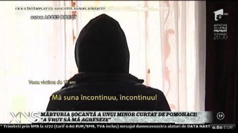 """Avea doar 15 ani! Mărturia șocantă a unui minor curtat de Pomohaci: """"A vrut să mă agreseze"""""""