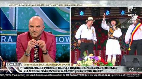 """Daniel Ionașcu, avocatul părintelui Pomohaci: """"Nu mă poate presa nimeni"""""""
