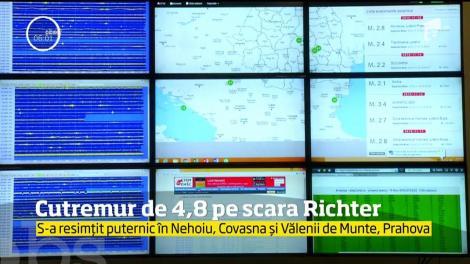 Un puternic cutremur a avut loc în urmă în zona seismică Vrancea