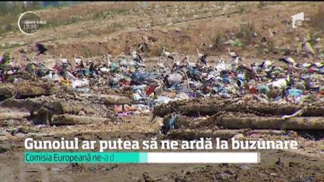 Un milion de tone de deşeuri, anual, la cele trei gropi de gunoi din judeţul Ilfov şi Capitală