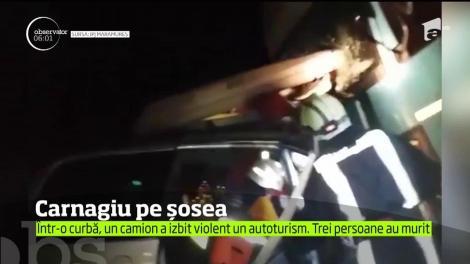 Tragedie uriaşă pe Drumul Naţional 1C, în Baia Mare!