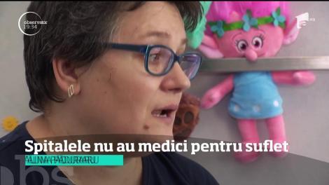 Spitalele nu au medici pentru suflet! Pacienții au nevoie de consiliere psihologică, pentru a lupta cu durerea