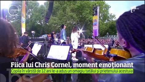 Moment emoționant! Fiica lui Chris Cornell le-a adus un omagiu tatălui și solistului Linkin Park