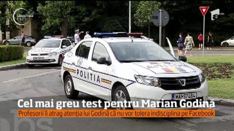 Cel mai cunoscut poliţist din România dă cel mai important test din viaţa lui!