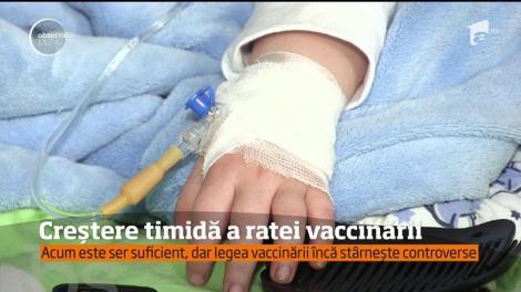 Ministerul Sănătăţii a anunţat cu mândrie că numărul celor care se vaccinează împotriva rujeolei a crescut de patru ori