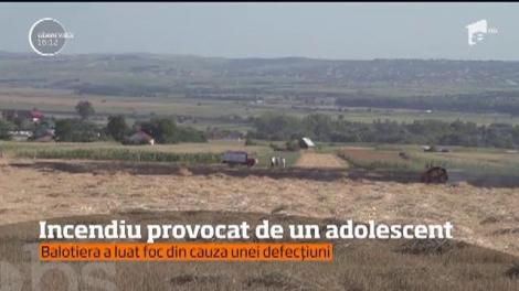 Un adolescent de 16 ani din judeţul Suceava a produs o pagubă semnificativă unui agricultor