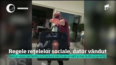 De la extravaganţe, la faliment. Gianluca Vacchi, regele reţeleor de socializare, mari probleme financiare. Fanii îi caută un job, să se întrețină
