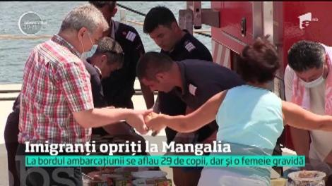 Imigranți ilegali opriți la Mangalia