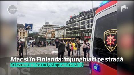 Atac și în Finlanda! Doi oameni au fost uciși și opt au fost răniți