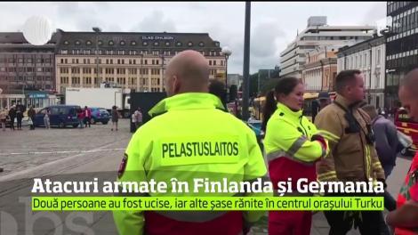 Atacuri armate în Finlanda și Germania