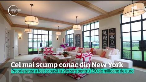 Cel mai scump conac din New York, scos la vânzare