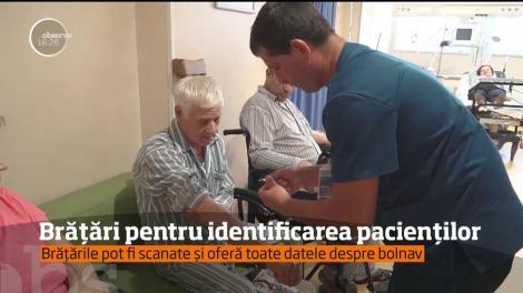 Brăţări pentru identificarea pacienţilor în Spitalul Judeţean Suceava